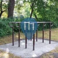 Halle / Saale - 徒手健身公园 - Universitätssportplatz Ziegelwiese