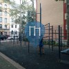 New York - Manhattan - Outdoor Exercise Park - Bloomingdale Playground