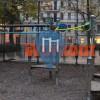 Berlin - Outdoor pull up bars - Warthestraße