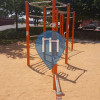 Barcelona - Calisthenics Equipment - Parque de Calistenia sencillo