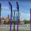 New York City - Outdoor Exercise Park - Roosevelt Island