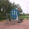 Mölndal - Calisthenics Park - Tressfit Ute Gym