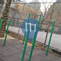 New York City - Outdoor Gym - John Jay Park