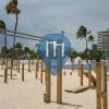 Форт-Лодердейл - Воркаут площадка - Beach