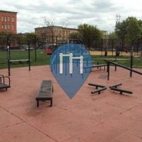 New York City - Calisthenics Equipment - Hope Ballfield (Brooklyn)