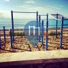 Calafell - Street Workout Park at the beach