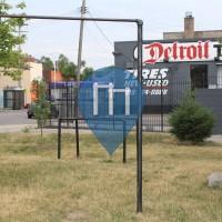 Detroit - Michigan - Calisthenics Gym - Redford Street