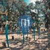 Kiew - Calisthenics Park - Hidropark Metro