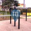 Fontaine - Calisthenics Park - Parc Jean Moulin