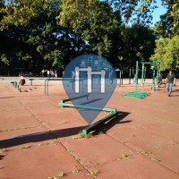 New York City -  Street Fitness Gym -  Lincoln Terrace Park