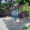 Karlova Ves (Bratislava) - Street Workout Equipment - Ľudovíta Fullu