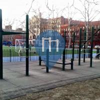 New York - Outdoor Exercise Park - Thomas Jefferson Park