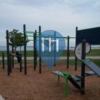 Chicago - Parque Calistenia - Burnham Park