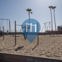 "Santa Monica - Outdoor Exercise Gym ""Muscle Beach"" - Venice Beach"