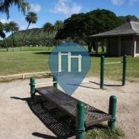 Honolulu - Street Workout Park - Kapiolani Park