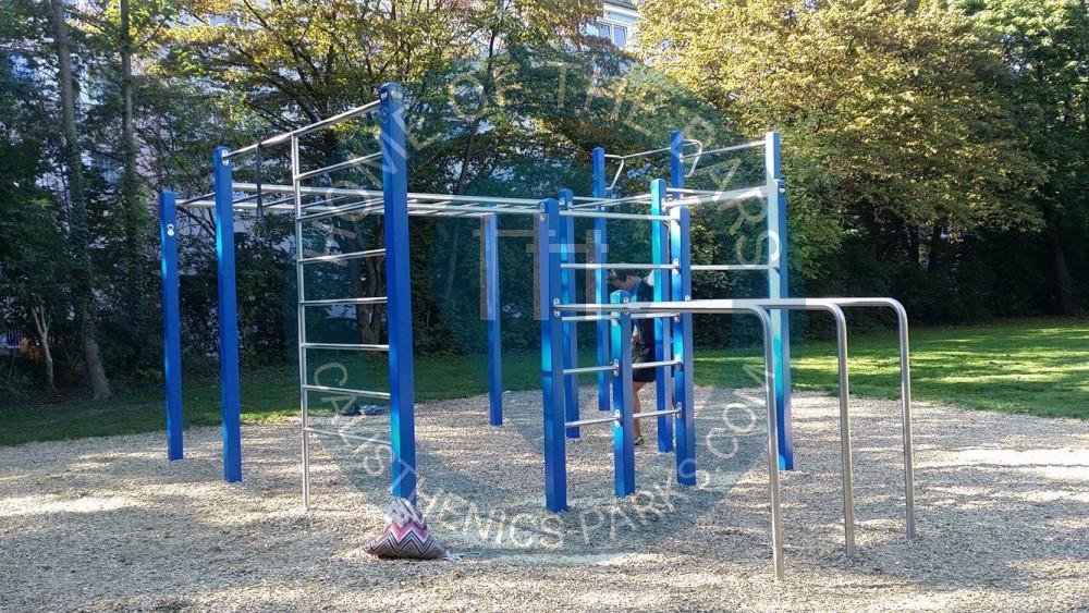 m nchen calisthenics park korbinianplatz playparc deutschland spot. Black Bedroom Furniture Sets. Home Design Ideas