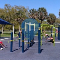 New Orleans City Park Outdoor Fitness & Calisthenics Park