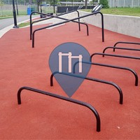 Montreal-Nord - Street Fitness Equipment - Complex sportif Claude-Robillard - Trekfit