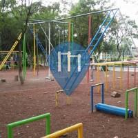 Mexico City - Calisthenics Park - Chapultepec Park