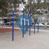 Santiago de Chile -  Outdoor Pull Up Bars - Parque Bustamante