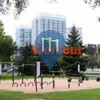 Toronto – Parque Calistenia – Sir Casimir Gzowski Park