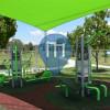 Wodonga - Outdoor Gym - Belvoir Park