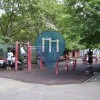New York City - Outdoor Fitness Exercise Stations - Wingate Park (Brooklyn)