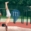 Brunoy - Calisthenics Park at the tennis courts