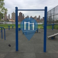 New York City - Outdoor Fitness Gym- Whitey Ford Field
