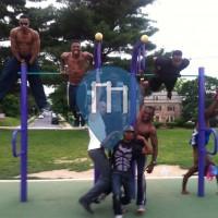 Baltimore - Outdoor Gym - Montebello Lake Park