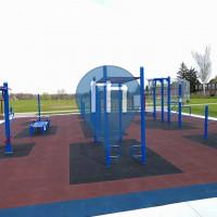 Waterloo - Calisthenics Exercise Stations - Bluevale Collegiate Institute